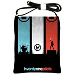 Twenty One 21 Pilots Shoulder Sling Bags Front