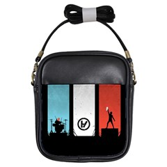 Twenty One 21 Pilots Girls Sling Bags