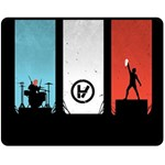 Twenty One 21 Pilots Fleece Blanket (Medium)  60 x50 Blanket Front