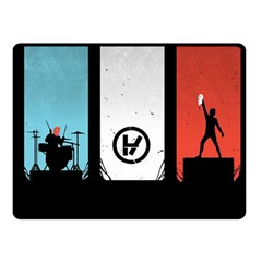 Twenty One 21 Pilots Fleece Blanket (Small)