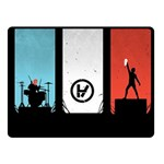 Twenty One 21 Pilots Fleece Blanket (Small) 50 x40 Blanket Front