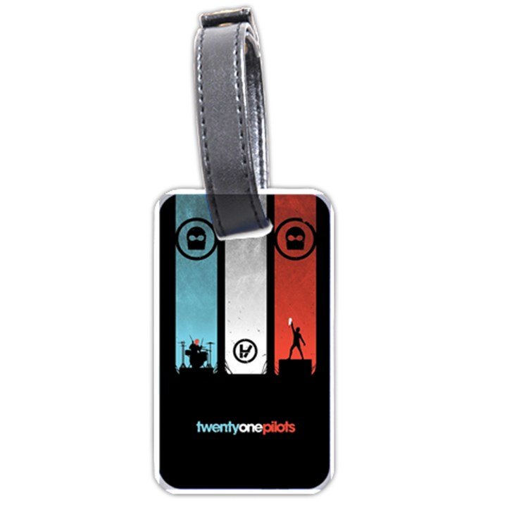 Twenty One 21 Pilots Luggage Tags (One Side)