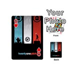 Twenty One 21 Pilots Playing Cards 54 (Mini)  Front - HeartQ