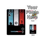 Twenty One 21 Pilots Playing Cards 54 (Mini)  Front - Club4