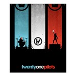 Twenty One 21 Pilots Shower Curtain 60  x 72  (Medium)  54.25 x65.71 Curtain