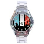 Twenty One 21 Pilots Stainless Steel Analogue Watch Front