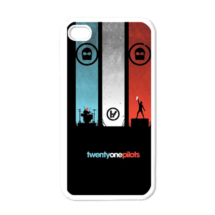 Twenty One 21 Pilots Apple iPhone 4 Case (White)