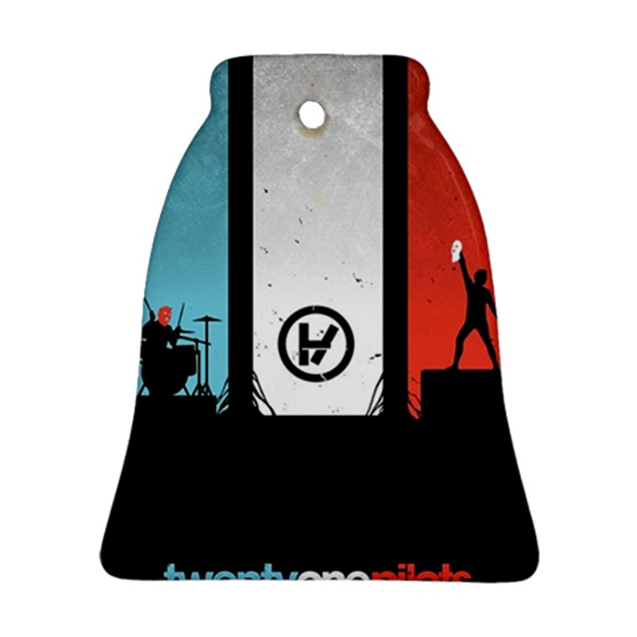 Twenty One 21 Pilots Bell Ornament (2 Sides)