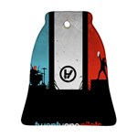 Twenty One 21 Pilots Bell Ornament (2 Sides) Back