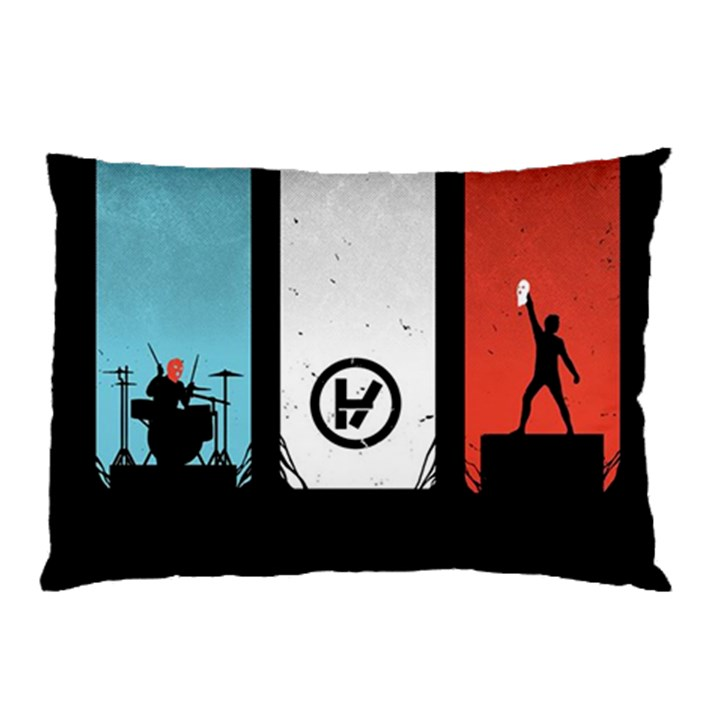 Twenty One 21 Pilots Pillow Case (Two Sides)