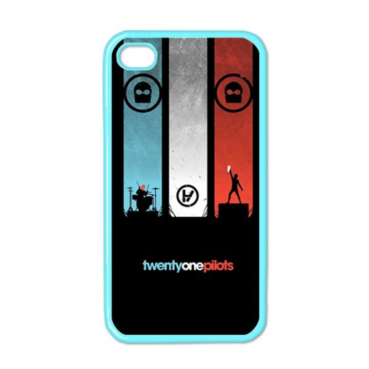 Twenty One 21 Pilots Apple iPhone 4 Case (Color)