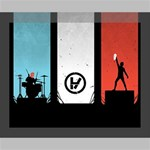 Twenty One 21 Pilots Deluxe Canvas 20  x 16   20  x 16  x 1.5  Stretched Canvas