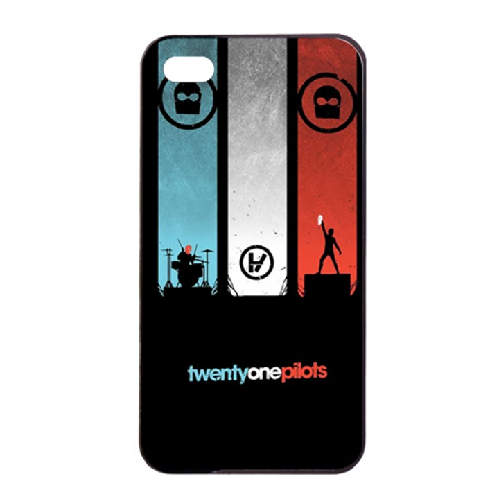 Twenty One 21 Pilots Apple iPhone 4/4s Seamless Case (Black)