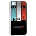 Twenty One 21 Pilots Apple iPhone 4/4s Seamless Case (White) Front