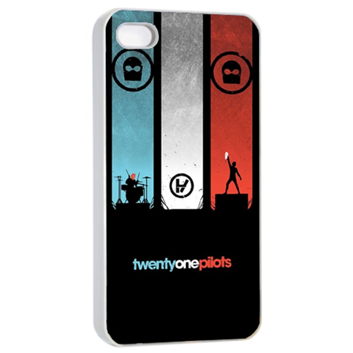Twenty One 21 Pilots Apple iPhone 4/4s Seamless Case (White)