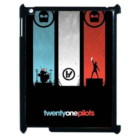 Twenty One 21 Pilots Apple iPad 2 Case (Black)