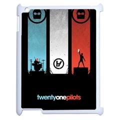 Twenty One 21 Pilots Apple iPad 2 Case (White)