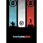 Twenty One 21 Pilots HOPE 3D Greeting Card (7x5) Inside
