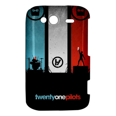 Twenty One 21 Pilots HTC Wildfire S A510e Hardshell Case