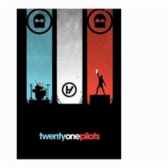 Twenty One 21 Pilots Small Garden Flag (Two Sides)