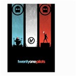 Twenty One 21 Pilots Small Garden Flag (Two Sides) Back