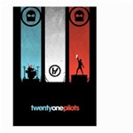 Twenty One 21 Pilots Large Garden Flag (Two Sides) Back
