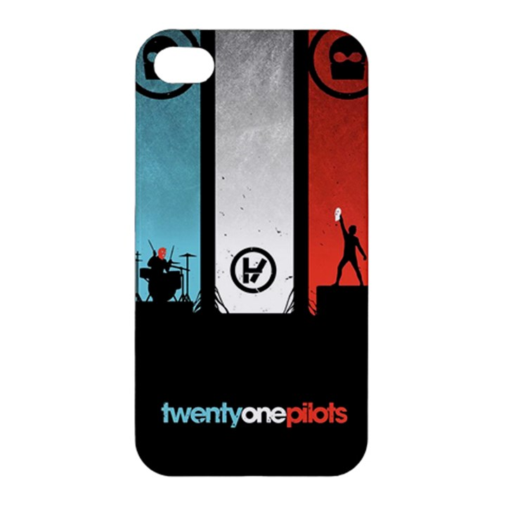 Twenty One 21 Pilots Apple iPhone 4/4S Premium Hardshell Case