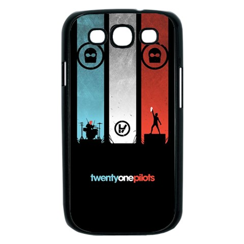 Twenty One 21 Pilots Samsung Galaxy S III Case (Black)