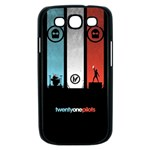Twenty One 21 Pilots Samsung Galaxy S III Case (Black) Front