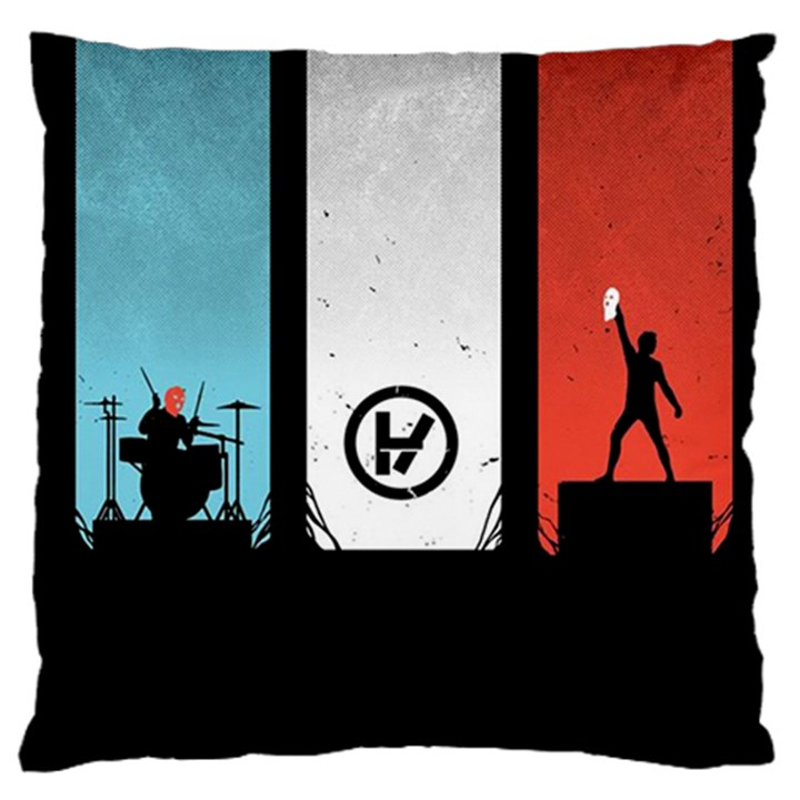 Twenty One 21 Pilots Large Cushion Case (Two Sides)