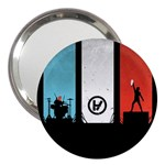Twenty One 21 Pilots 3  Handbag Mirrors Front