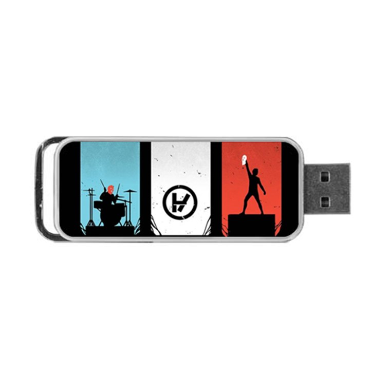 Twenty One 21 Pilots Portable USB Flash (One Side)