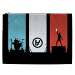 Twenty One 21 Pilots Cosmetic Bag (XXL)  Front