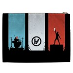 Twenty One 21 Pilots Cosmetic Bag (XXL)  Back