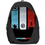 Twenty One 21 Pilots Backpack Bag Front