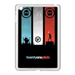 Twenty One 21 Pilots Apple iPad Mini Case (White) Front