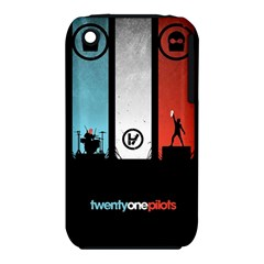 Twenty One 21 Pilots Apple Iphone 3g/3gs Hardshell Case (pc+silicone)