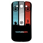 Twenty One 21 Pilots Samsung Galaxy S3 S III Classic Hardshell Back Case Front