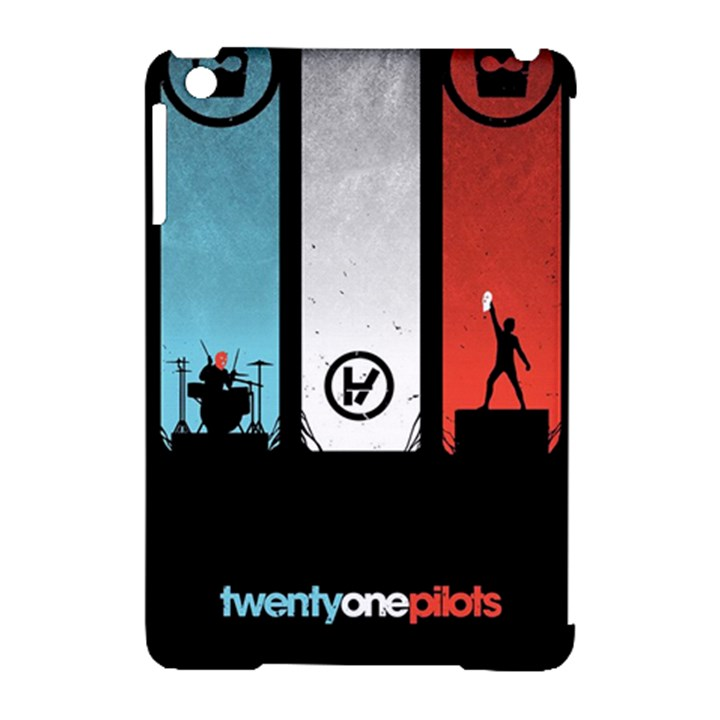 Twenty One 21 Pilots Apple iPad Mini Hardshell Case (Compatible with Smart Cover)