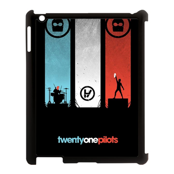 Twenty One 21 Pilots Apple iPad 3/4 Case (Black)