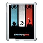 Twenty One 21 Pilots Apple iPad 3/4 Case (White) Front