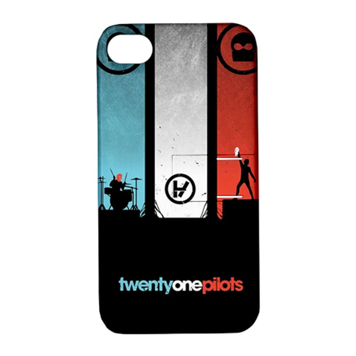 Twenty One 21 Pilots Apple iPhone 4/4S Hardshell Case with Stand