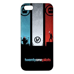 Twenty One 21 Pilots Apple iPhone 5 Premium Hardshell Case