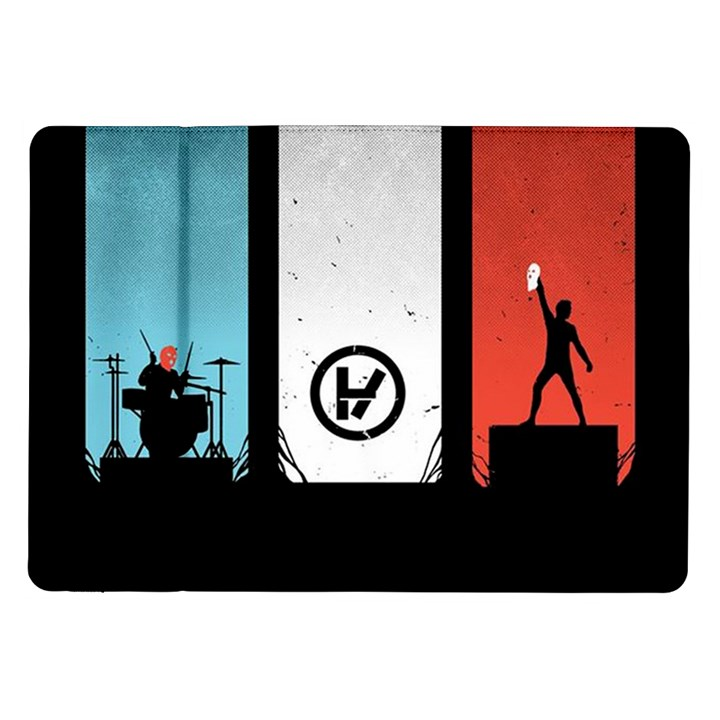 Twenty One 21 Pilots Samsung Galaxy Tab 10.1  P7500 Flip Case