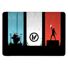 Twenty One 21 Pilots Samsung Galaxy Tab 8 9  P7300 Flip Case