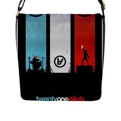 Twenty One 21 Pilots Flap Messenger Bag (L)