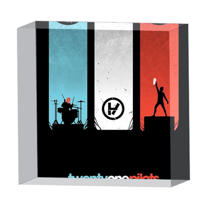 Twenty One 21 Pilots 5  x 5  Acrylic Photo Blocks