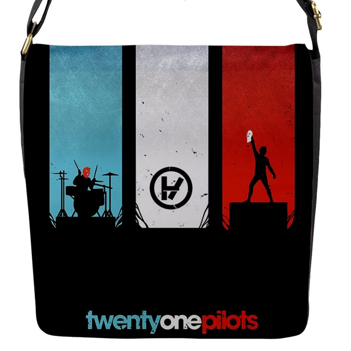 Twenty One 21 Pilots Flap Messenger Bag (S)