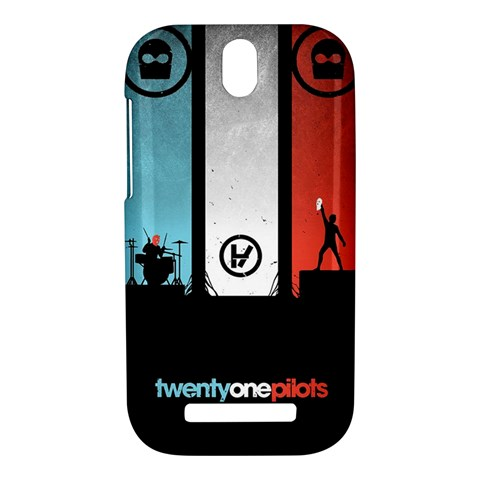 Twenty One 21 Pilots HTC One SV Hardshell Case