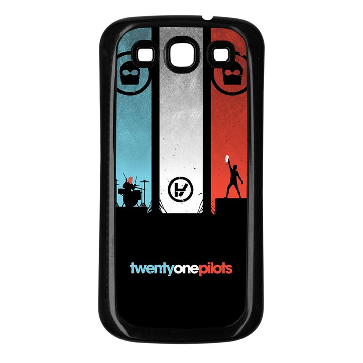 Twenty One 21 Pilots Samsung Galaxy S3 Back Case (Black)